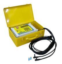 Nowatech ZEEN800 KPE elektrofitting hegesztő 160mm-ig, vonalkód olvasóval, naplózással
