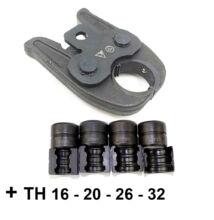 Univerzális préspofa TH présgyűrűkkel