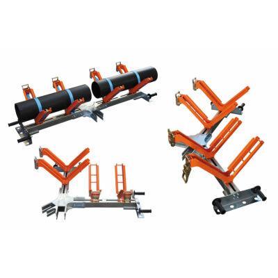 Csőtartó/ cső központosító125-500mm elektrofittinges hegesztésekhez
