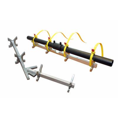 Csőtartó/ cső központosító ECO 63-180 elektrofittinges hegesztésekhez