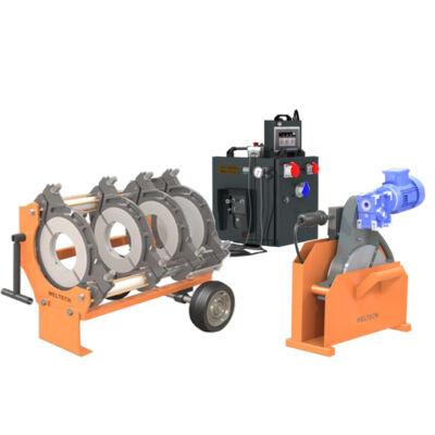 Weltech CNC 400  KPE cső tompahegesztő gép
