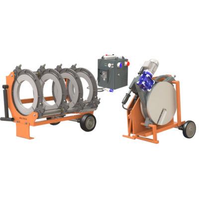 Weltech W500  KPE cső tompahegesztő gép