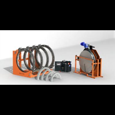 Weltech CNC 800  KPE cső tompahegesztő gép