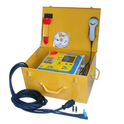 Nowatech ZEEN4000-PLUS KPE elektrofitting hegesztő, 800mm-ig, vonalkód olvasóval, naplózással