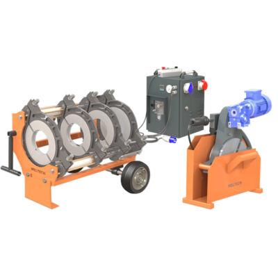 Weltech W400  KPE cső tompahegesztő gép